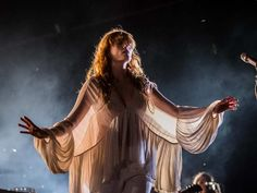 Florence Welch of Florence and the Machine performs on Day 1 of the 2015 edition of the Osheaga Music and Arts Festival at Parc Jean-Drapeau in Montreal on Friday, July 31, 2015.