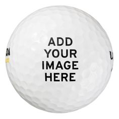 Design your Own Custom Personalized Pack Of Golf Balls