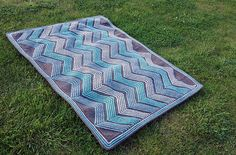 Ravelry: Zigzaggy pattern by Karen S. Lauger