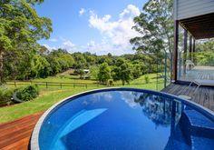 Australian Concrete Plunge Pools | Brisbane Small Backyard Pools, Small Pools, Pool Decks, Stock Pools, Pool Water, Water Tank, Above Ground Pool, In Ground Pools, Concrete Pool