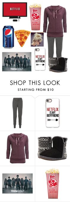 """""""Netflix & Chill"""" by kenzie-shell ❤ liked on Polyvore featuring Calvin Klein Collection, Casetify, Carve Designs and Foamtreads"""