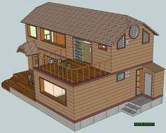 전원주택 건축시 20가지는 챙겨보고 시작하자 - ★부동산관련서식/자료 - 토지사랑모임카페 Composition Art, Sims 4 Houses, Sims Cc, Concept Art, Floor Plans, Cabin, Flooring, House Styles, Building