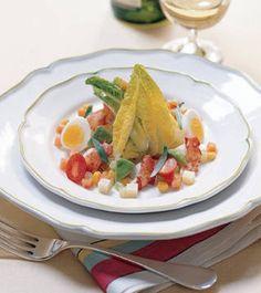 Lobster Cobb Salad Recipe