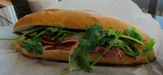 Chefs have completely fallen madly in love with pork belly in recent years. Discover why after just one bite of this flavorful Pork Belly Banh Mi recipe. Banh Mi Recipe, Hot Sandwich Recipes, First Bite, Grilled Pork, Vietnamese Recipes, Pork Dishes, Pork Belly, Pork Recipes, Barbecue