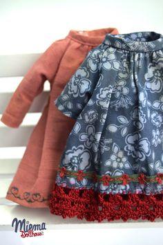 2 Vintage Style DRESSES for Blythe by Miema от miema4dolls на Etsy