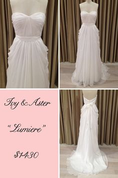 "Ivy & Aster ""Lumiere"" #wedding #gown #dress"