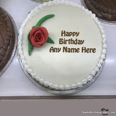 Birthday Cakes for Friend With Name