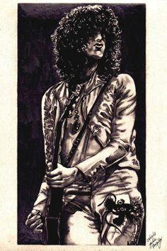 Jimmy Page artwork