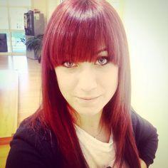 Rosso!colore aveda!by salone Miki