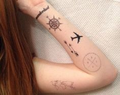 vintage airplane tattoo - Sök på Google