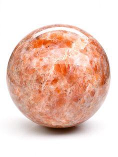 Minerals And Gemstones, Crystals Minerals, Rocks And Minerals, Stones And Crystals, Cast The First Stone, Orange Crystals, Mineralogy, Crystal Sphere, Patterns In Nature