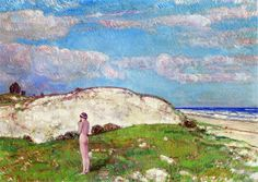The Athenaeum - Uncle Bennys Dune (Frederick Childe Hassam - No dates listed)