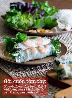 Gỏi cuốn tôm thịt - Món ăn đơn giản mà ngon bất ngờ