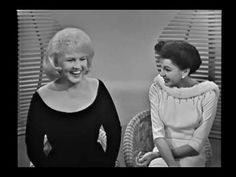 Peggy Lee & Judy Garland talk a little and sing a duet