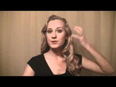 How to Finger Wave Long Thick Hair- Perfect for my 1920's costume!