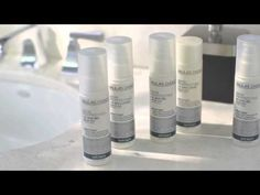 Skin Perfecting AHA & BHA Exfoliants - YouTube.  It explains what AHA and BHA is and does and how they differ.