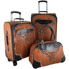 La Vani Longhorn Luggage