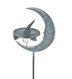 #Moon And #Sundial Metal #Wind #Spinner