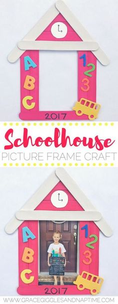 9 best POPSICLE STICK PICTURE FRAME images on Pinterest | Craft ...