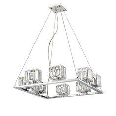 "CHLOE Lighting CH20038CM24-UP8 Ceiling Pendant ""TRILLUMINATE"""