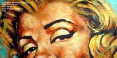 De la serie MIradas de Marilyn  120 x 60 cm Mixta sobre lienzo Autor Diana Francia G O Diana, Original Paintings, Original Art, Buy Art, Saatchi Art, Fine Art, Canvas, Artwork, Style