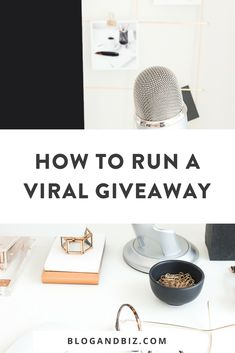 Running a giveaway for your audience is a great way to increase your audience and grow your business. This guide will show you how to run a viral giveaway and make it successful! Business Pictures, Business Ideas, Email Providers, Email Marketing, Digital Marketing, Instagram Tips, Social Media Tips, Blog Tips, Giveaway