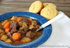 St. Paddy's Day beef stew with Guinness beer.