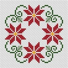 styled Christmas wreath cross stitch patter with three colors: green Beautiful styled Christmas wreath cross stitch patter with three colors: green, . -Beautiful styled Christmas wreath cross stitch patter with three colors: green, . Biscornu Cross Stitch, Cross Stitch Borders, Cross Stitch Flowers, Cross Stitch Designs, Cross Stitching, Cross Stitch Embroidery, Hand Embroidery, Embroidery Ideas, Christmas Cross Stitch Alphabet