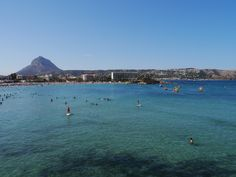 Javea on a August day