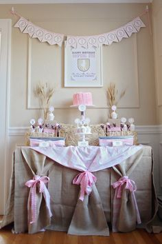 cowgirl dessert table