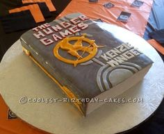 Cool Hunger Games Book Cake... This website is the Pinterest of birthday cake ideas