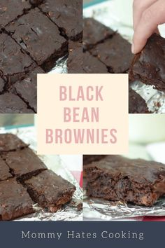 Black Bean Brownies | Mommy Hates Cooking