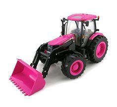 1/16th BIG FARM Case IH PINK Tractor with Removable Loader TOMY International (ERTL) http://www.amazon.com/dp/B00KOTOFSA/ref=cm_sw_r_pi_dp_gctUub0RVSBVQ
