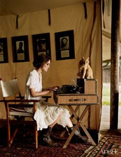 Vogue US - Juni 2007 - Keira Knightley in Vogue - Nieuws - Fashion