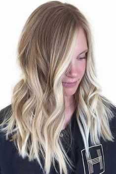 15 fresh ideas from Blonde Balayage for you to be trendy in 2020 - Mody Hair Blonde Bayalage, Ashy Balayage, Platinum Blonde Balayage, Grey Blonde Hair, Blond Ombre, Red To Blonde, Platinum Hair, Hair Color Balayage, Blonde Highlights