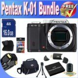 What Is The Greatest Price For Pentax K-01 16MP APS-C CMOS Compact Program Digital camera [Human body] (Black) + Extended Daily life Battery + 16GB SDHC Course ten Memory Card + USB Card Reader + Memory Card Wallet + Deluxe Circumstance w/Strap + Shock Evidence Deluxe Case + Mini HDMI to HDMI Cable + Accessory Saver Bundle! Greatest Price - http://buyingmanual.com/what-is-the-greatest-price-for-pentax-k-01-16mp-aps-c-cmos-compact-program-digital-camera-human-body-black-extend