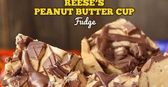 Reese's Peanut Butter Fudge is luscious and creamy, made with chunks of peanuts throughout the fudge to give it the perfect crunch. This Reese's Peanut Butter Fudge is a simple recipe with just It comes together in just 10 minutes. Reeses Peanut Butter, Peanut Butter Recipes, Fudge Recipes, Candy Recipes, Sweet Recipes, Holiday Recipes, Dessert Recipes, Just Desserts, Delicious Desserts