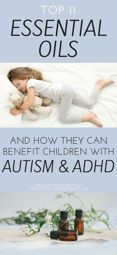 Discover the best essential oils for autism and ADHD and exactly how they can benefit your child. Full guide for using essential oils for autism available.
