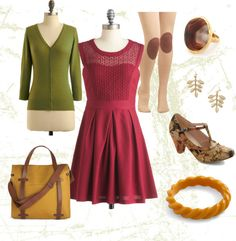 """""""Fall in New England"""" by allison-biggs-gd on Polyvore"""