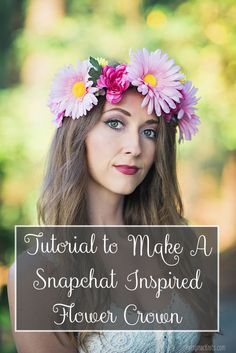 DIY tutorial on how to make a flower crown | Pattymac Knits
