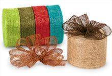 Natural Sinamay Ribbon - Hand Made Ribbon by Distant Village
