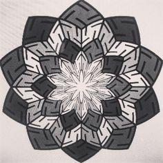 Cubic swastikas #mandala #dotwork #wallpaper #pattern #patterndesign #tattoo #opart #surfacedesign #surfacepattern  #sacredgeometry #surfacepatterndesign #goldenratio  #islamicart  #bristol #repeatpattern #textiles #amsterdam #bushwick  #islamicart  #floweroflife #geometric #dailypattern #islamicpattern #swastika #geometry #floweroflife #sayagata #dmt  #neogypsy