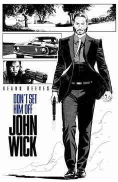 Vic De Leon@VicsMovieDen - #JohnWick #AltPoster #AltArt