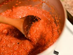 Ajvar (Serbian Roasted Red Pepper Sauce) | Serious Eats : Recipes