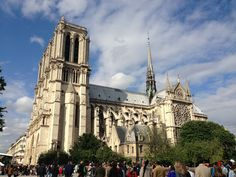 Visit one of the most historic Catholic cathedrals and best known examples of French Gothic architecture at:http://www.notredamedeparis.fr/-English-