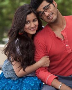 """""""We are in love with this still of Arjun and Alia Bhatt from Two States. @Bollywood    . . .…"""""""