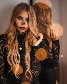 (notitle) - halloween makeup - Halloween MakeUp and Kostume Halloween Makeup Artist, Halloween Makeup Looks, Halloween Tags, Makeup Artist Jobs, Makeup 2018, Make Up Art, Lifestyle Photography, Long Hair Styles, Inspiration