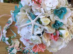 Seaside Bridal Bouquet Sweet Peas Delphinium Ranunculus