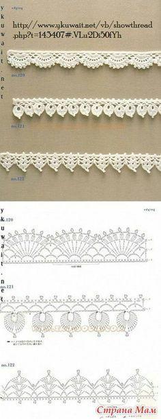 Puntos de crochet, p