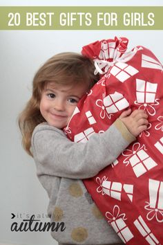 thinking about Christmas yet? here's a great list of 20 gifts for girls (or boys!) that will actually get played with